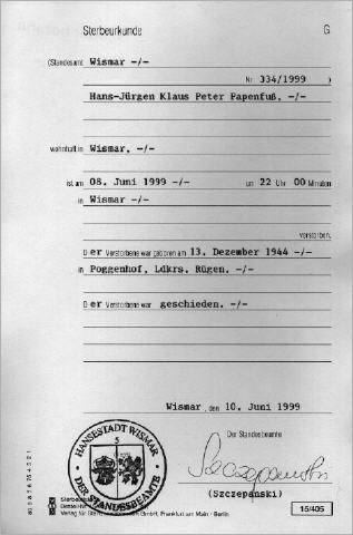 Dorable Sterbeurkunden Georgia Photo - Online Birth Certificate ...
